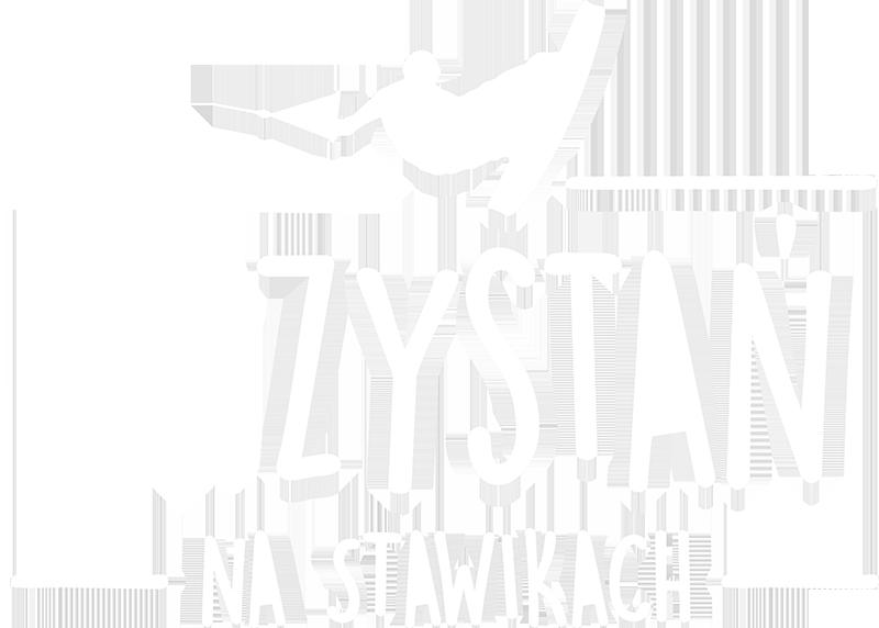 Przystań na stawikach logo white